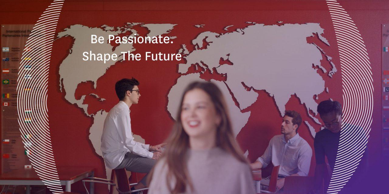 « Be passionate. Shape the future » Une nouvelle signature pour NEOMA Business School