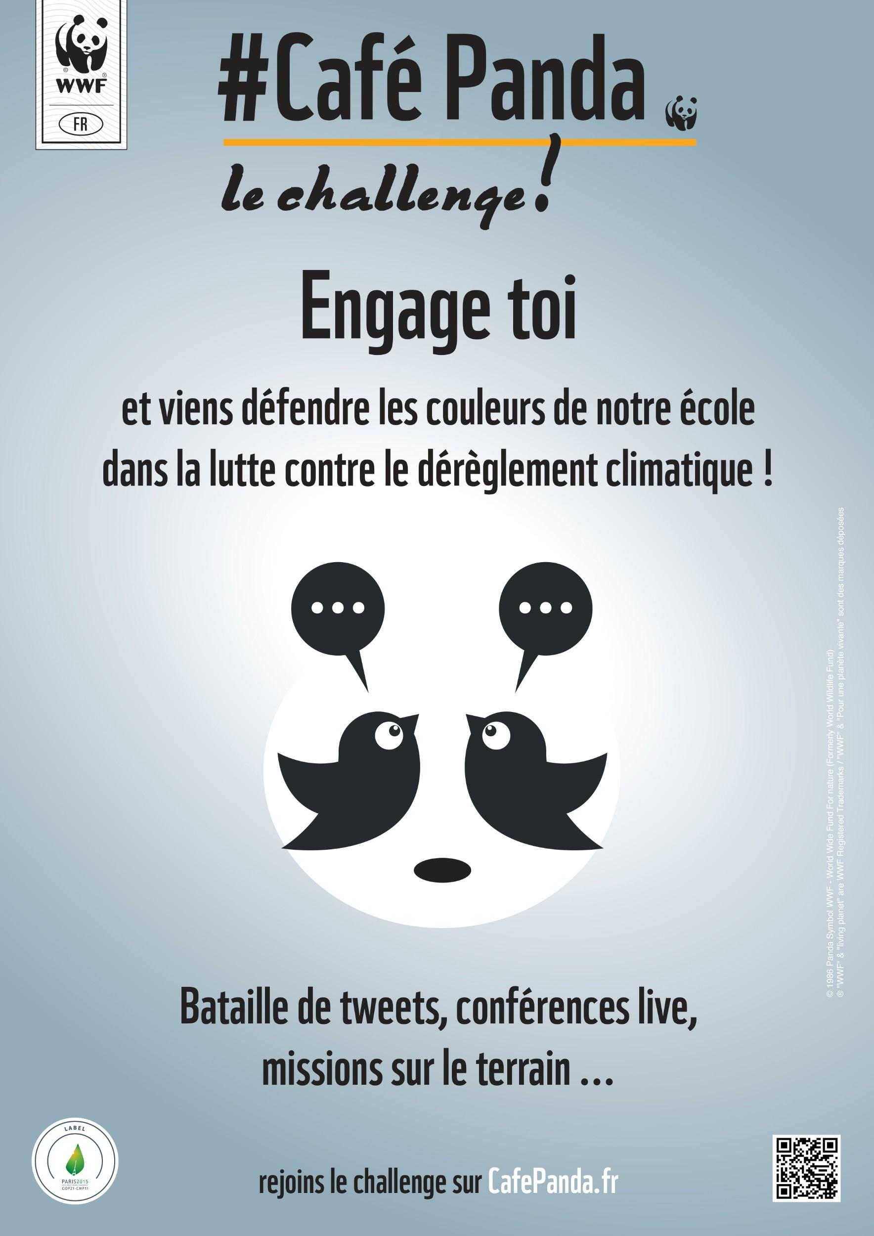 #CaféPanda – Le challenge est lancé !