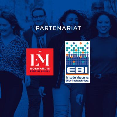 L'EBI et l'EM Normandie s'associent pour proposer un diplôme complémentaire aux élèves ingénieurs en biologie industrielle