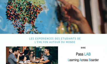[DANS MON COURS A EMLYON] Pass LAB, le cours qui transforme l'expérience internationale en compétences interculturelles