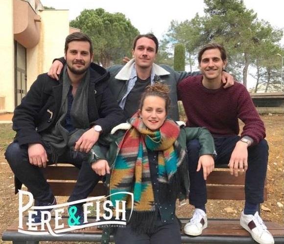 Etudiant et mordu d'entrepreneuriat avec Père & Fish