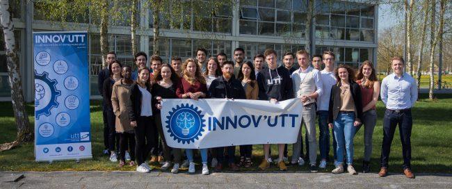 Des élèves-ingénieurs s'engagent pour l'innovation et l'entrepreneuriat à l'UTT !