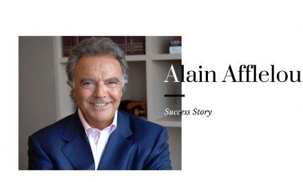 Interview d'Alain Afflelou : le leader qui voit loin