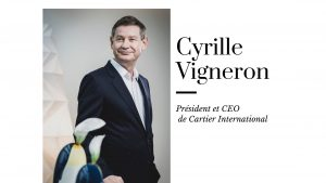Président et CEO de Cartier International