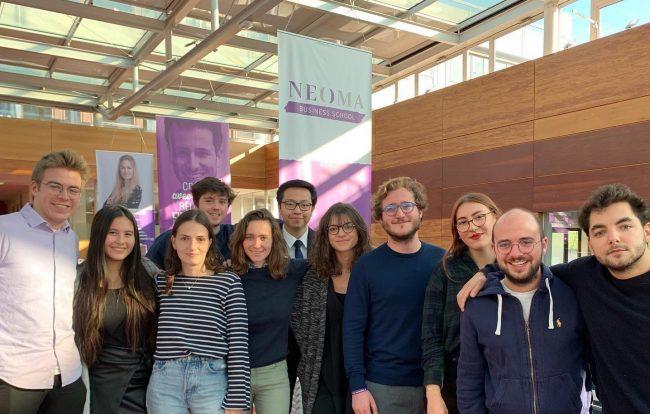 Genius Neoma Reims promeut et démocratise l'entrepreneuriat