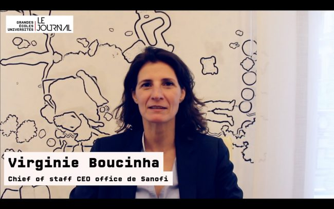 Rencontre avec la chief of staff CEO office de Sanofi : Virginie Boucinha