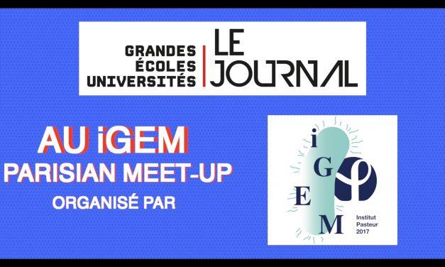 iGEM Parisian Meetup : rencontre avec ceux façonnent le monde de demain