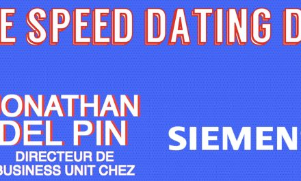 Le Speed Dating de Jonathan Del Pin, directeur de business unit chez Siemens