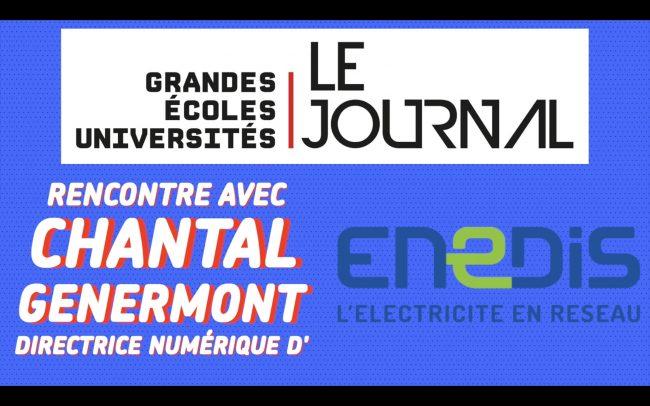 Rencontre avec Chantal Genermont, directrice du numérique d'ENEDIS
