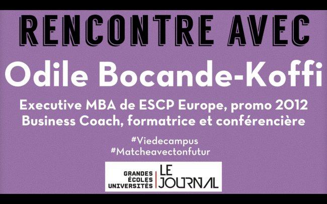 Odile Bocande-Koffi (promo 2012) se confie sur les forces de l'Executive MBA d'ESCP Europe
