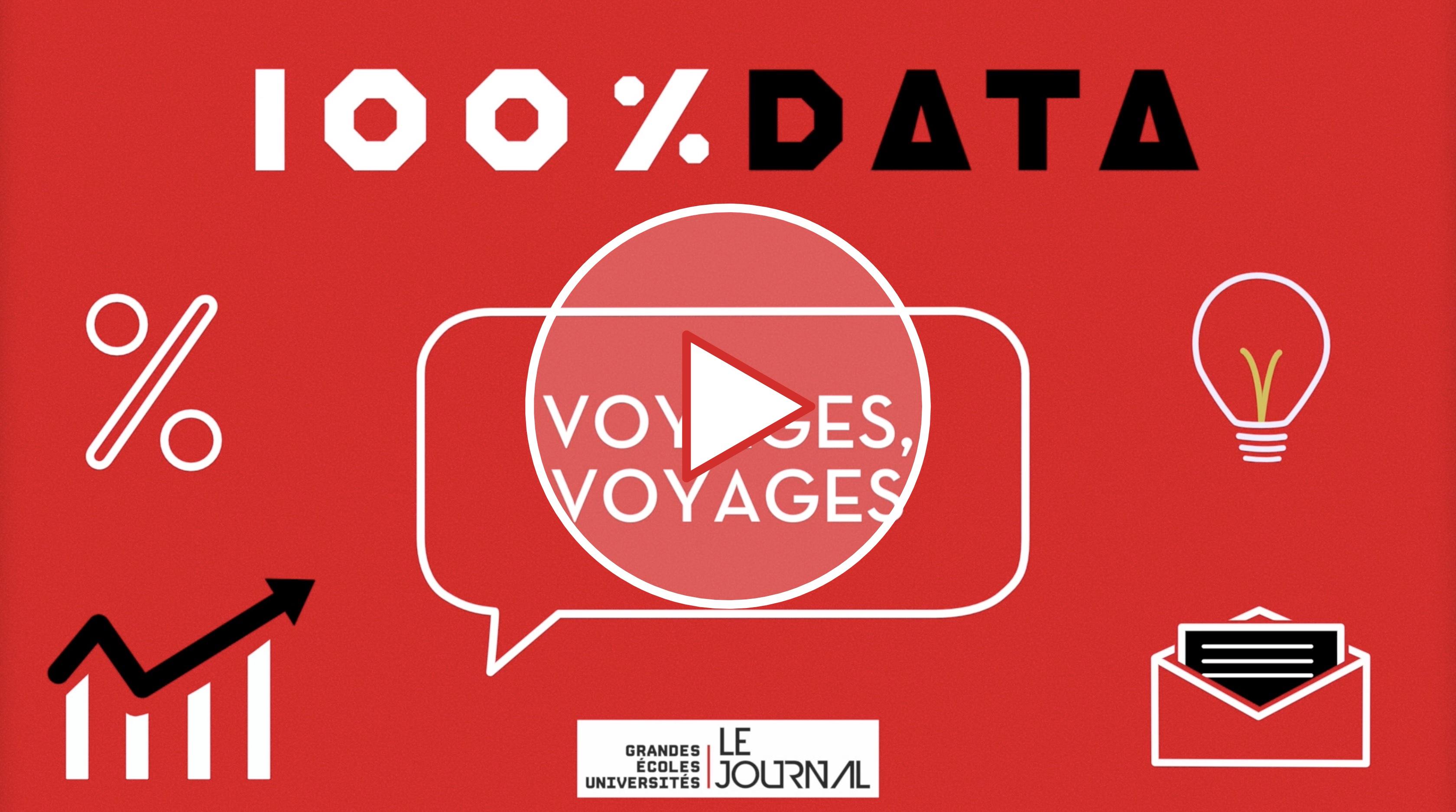 100 % data éco – Épisode 2 – Voyages, voyages