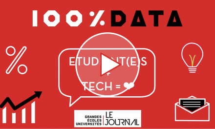 100 % data éco – Épisode 4 – Étudiant(e)s + Tech = ❤ ?