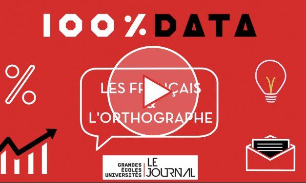 100 % data éco – Épisode 5 – Les Français et l'orthographe