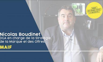 Nicolas Boudinet – MAIF : «Entrez dans votre carrière sans à priori !»