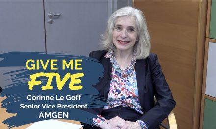 Corinne Le Goff – AMGEN : «Mettre la biologie au service de la médecine»