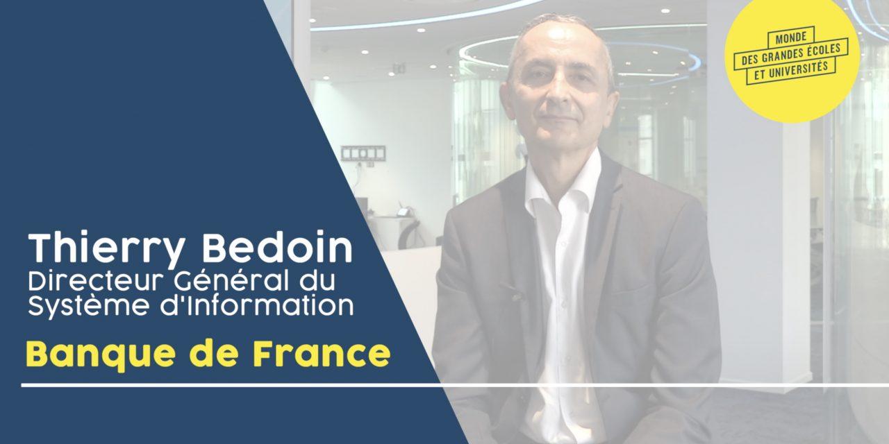 Thierry Bedoin – BANQUE DE FRANCE : «Nous avons 1001 projets»