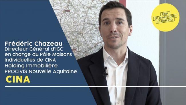 Frédéric Chazeau – CINA : «Rejoignez une entreprise qui a les moyens de ses ambitions»