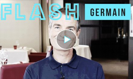 Vidéo Flash – Christophe Germain, Audencia
