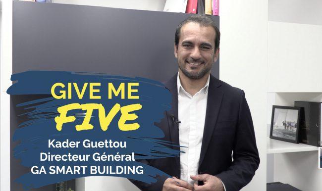 Kader Guettou – GA SMART BUILDING : «L'immobilier a besoin de jeunes talents»