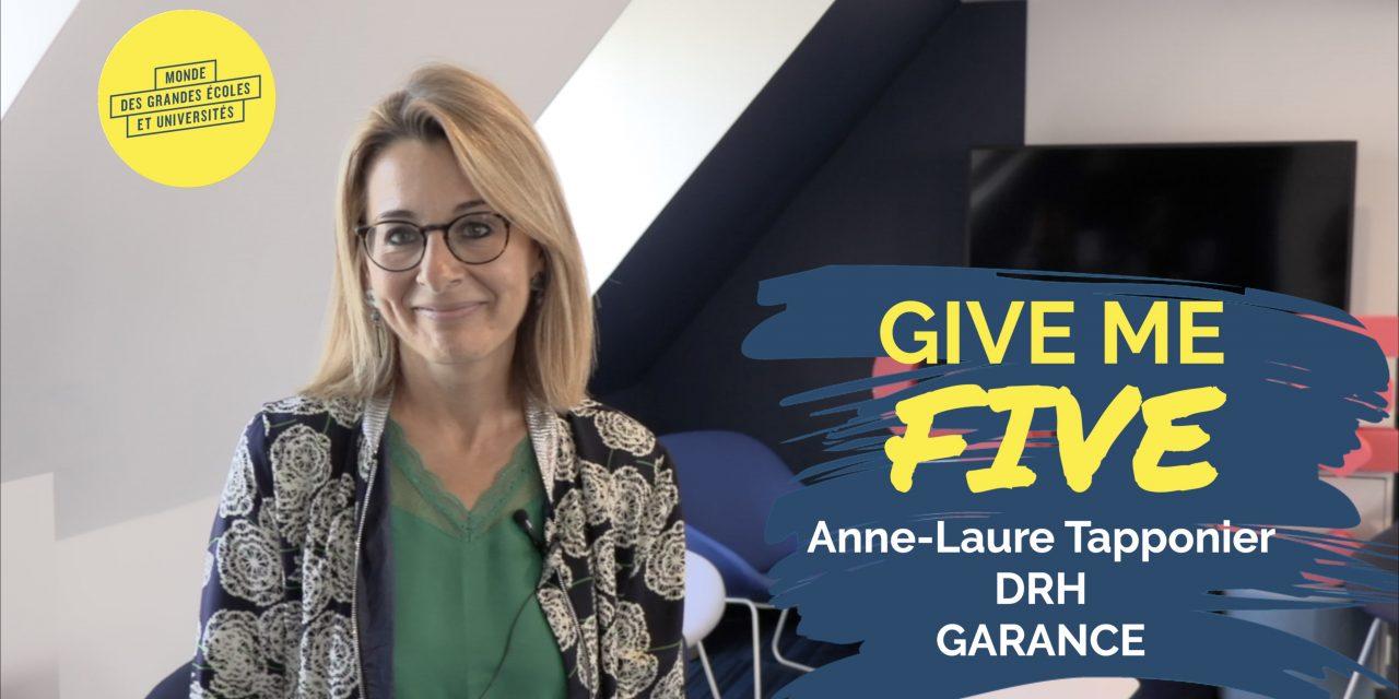 Anne-Laure Tapponier – GARANCE : «Une entreprise Great Place to Work où il fait bon travailler !»