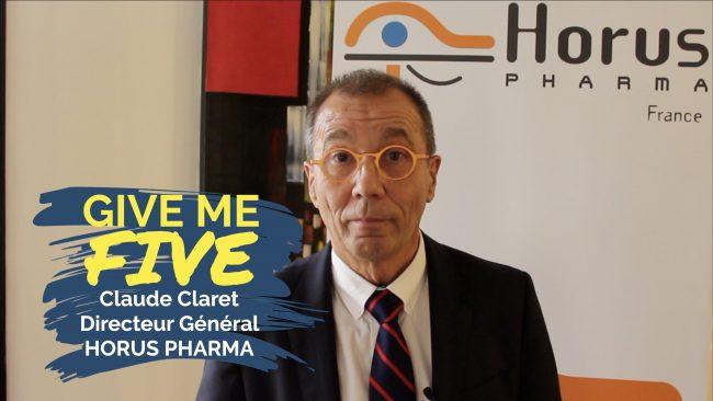 Claude Claret – HORUS PHARMA : «Le profil parfait c'est quelqu'un qui n'est pas formaté»