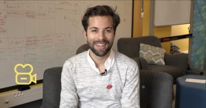 Thibault Weiser, étudiant à la Web School Factory