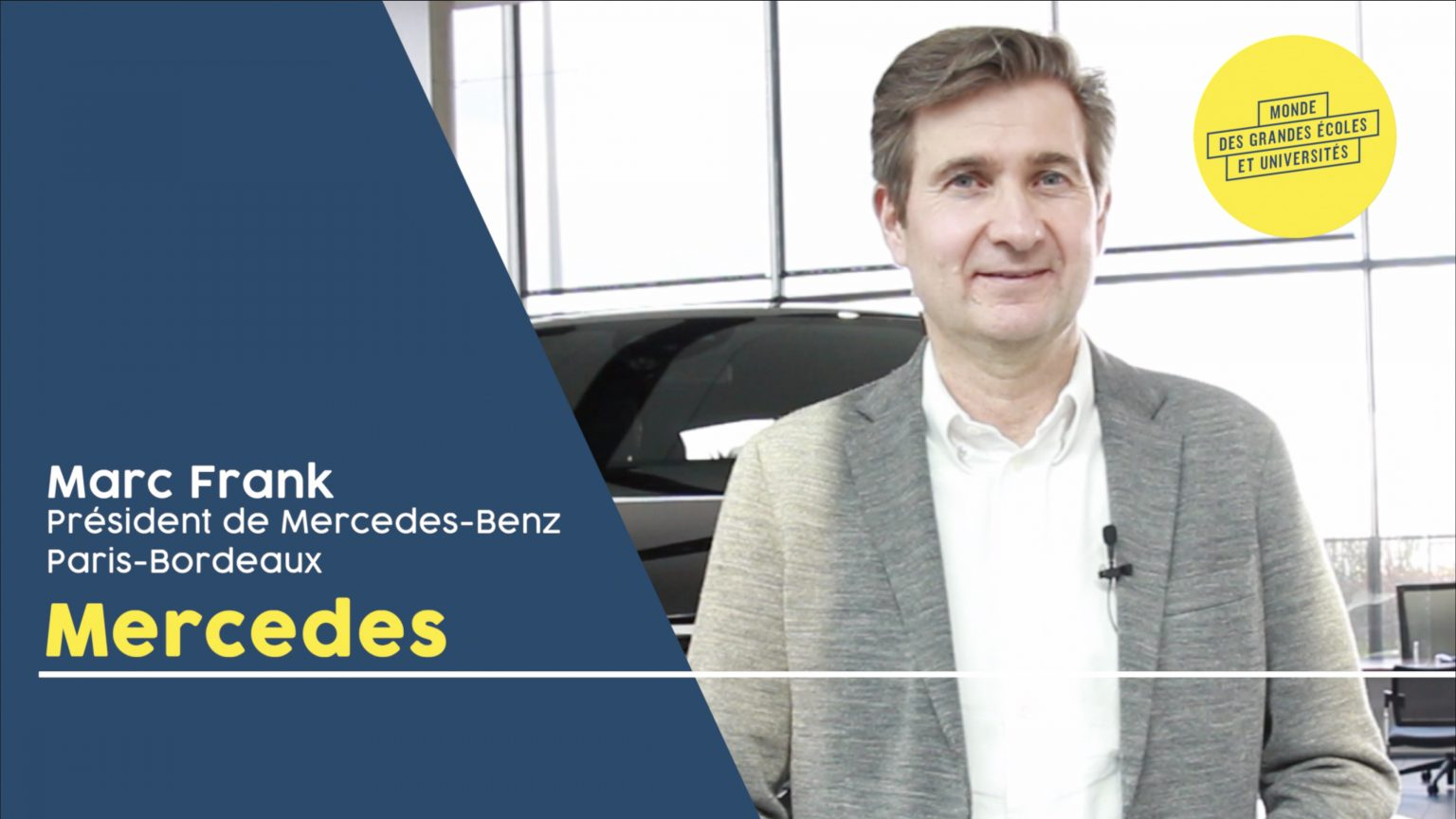 Interview Marc Frank Mercedes-Benz Paris-Bordeaux