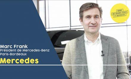Marc Frank – MERCEDES-BENZ PARIS-BORDEAUX : « Nous sommes en pleine transformation pour la mobilité du futur »