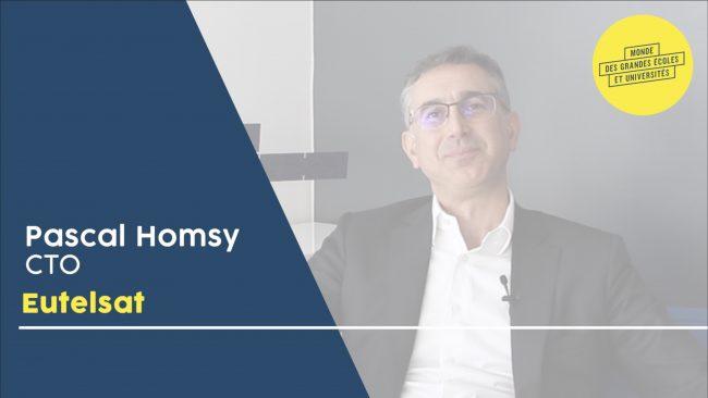 Pascal Homsy – EUTELSAT : «Rejoignez l'aventure des télécoms spatiales !»