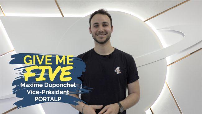 Maxime Duponchel – PORTALP : «Bienvenue dans la famille Portalp !»