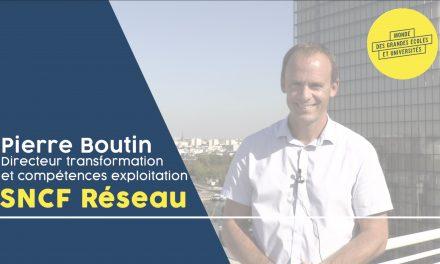 Pierre Boutin – SNCF Réseau : «Le champ des possibles en matière de métiers est énorme»