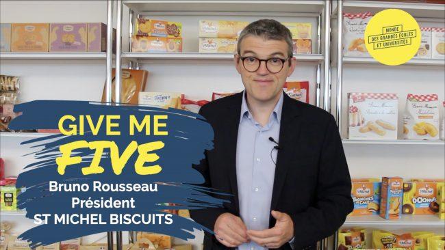 Bruno Rousseau – ST MICHEL BISCUITS : «Le fabricant français de biscuits le plus innovant»