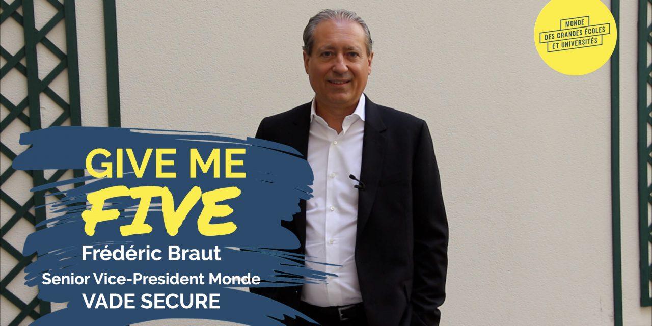 Frédéric Braut – VADE SECURE : «Notre innovation est 100 % française»