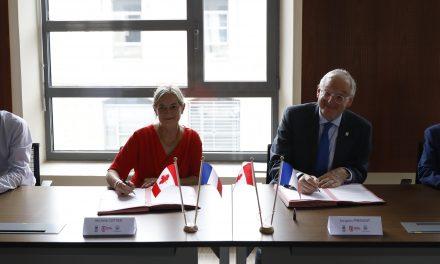 Au coeur de la coopération scientifique entre l'Université Jean Monnet et l'Université d'Otttawa