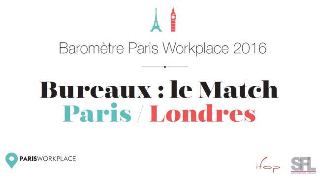 Le match Paris Londres : où sont les meilleurs bureaux ?