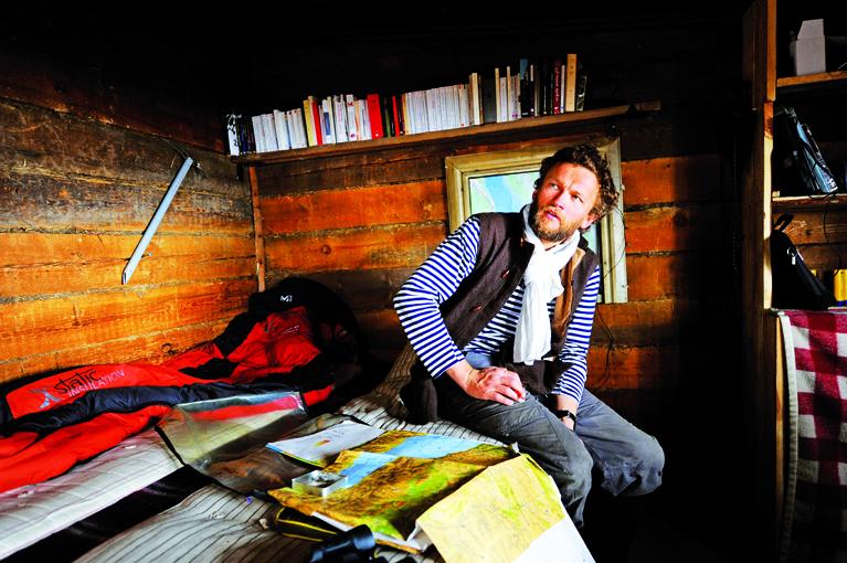 Sylvain Tesson, un écrivain voyageur qui s'est fait ermite