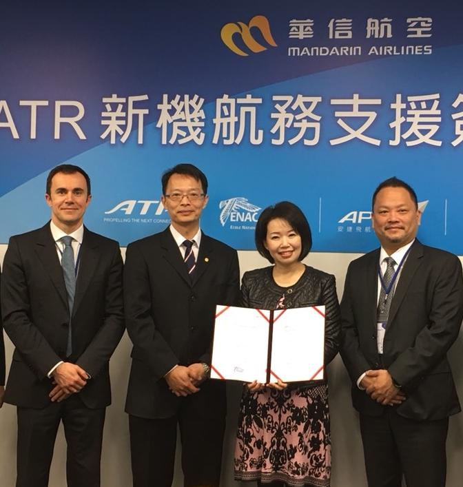 Signature d'un accord de partenariat entre l'ENAC et l'APEX Flight Academy de Taiwan