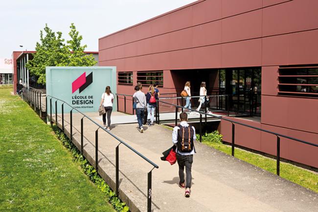 Covid-19 : L'École de design Nantes Atlantique Une école engagée et solidaire, une école réinventée