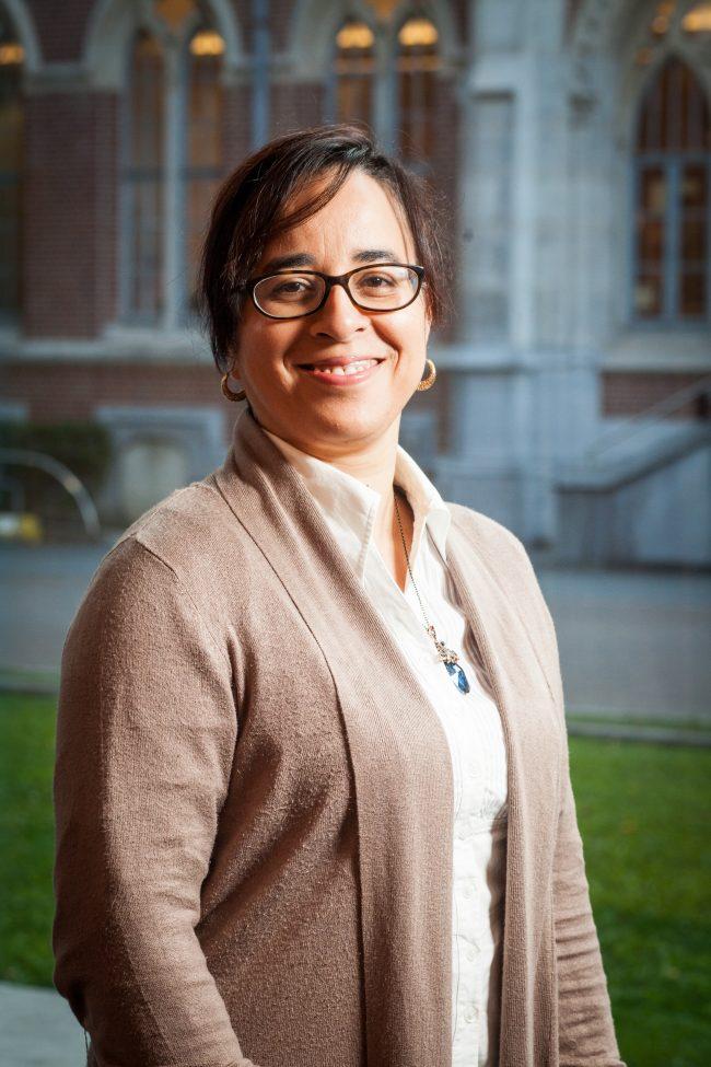 Halima Mecheri-Mordi, Doyenne de la FLSH de l'université Catholique de Lille © Guillaume Leroy