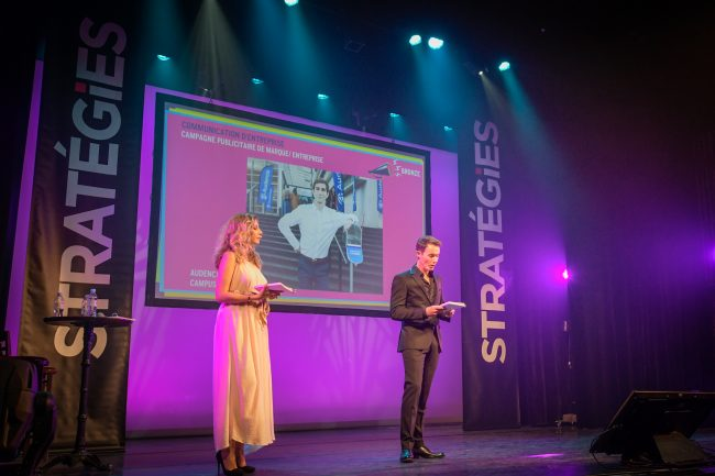 Audencia décroche un Grand Prix des Stratégies de communication 2019