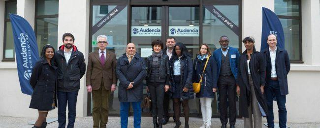 Première rentrée parisienne de l' « Executive M.Sc. Directeur financier », formation créée par le réseau des Dirigeants Financiers (DFCG) et Audencia