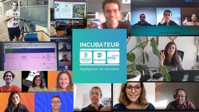 L'incubateur Centrale-Audencia-Ensa : la voie royale vers l'entrepreneuriat !