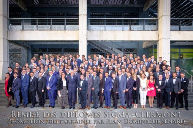 Première remise des Diplômes pour l'école Sigma Clermont !