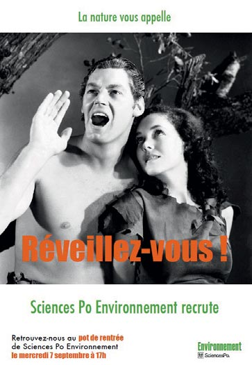 Sciences Po Environnement agit pour le développement durable