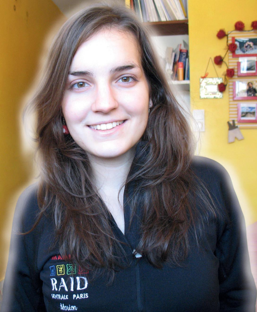 CENTRALE PARIS – Marion Olekhnovitch, 20 ans