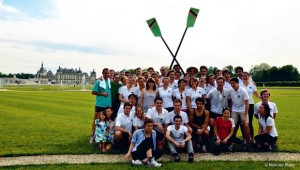 Le Club Aviron ESSEC au grand complet