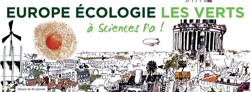 EELV Sciences Po, fort et vert !