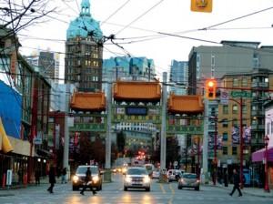 Entrée de Chinatown, le Millenium Gate