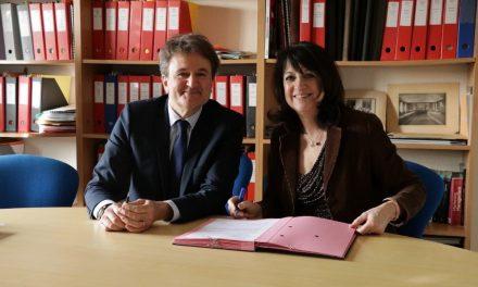 Le Groupe ESC Clermont et le CFPB officialisent leur partenariat.
