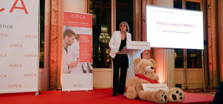 Marie-France Zumofen est nommée directrice de La Fabrique et de l'ISIPCA, écoles de la CCI Paris Ile-de-France